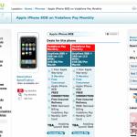 Vodafone e iPhone – Ya hay ofertas conjuntas