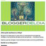 Blogger del día en Blogissimo