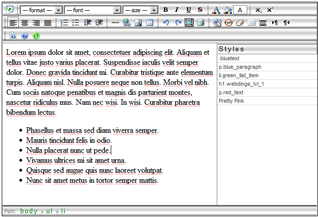 Editor Visual para Blogs desde Firefox
