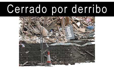 Actualización por Derribo