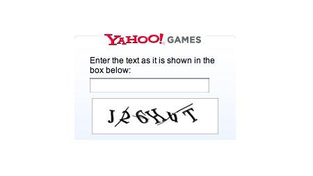 CAPTCHA de Yahoo Hackeado