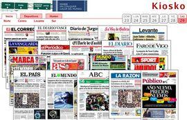 Todas las portadas de prensa en una sola web