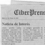 Recortes de prensa personalizados en tu Blog