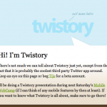 Twistory – Tu historial de Twitter en el calendario