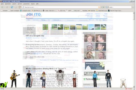 Weblin – Los avatares invanden tu web