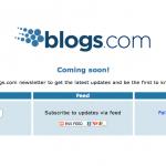 Blogs.com el dominio mas deseado en pruebas