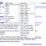 Google Traduce Semánticamente