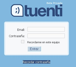 tuenti-login