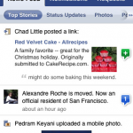 Facebook 2 para iPhone
