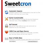 SweetCron – Tu propia red social
