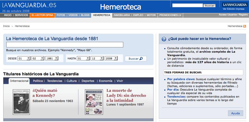 La Vanguardia Online