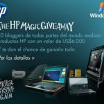 Mas blogs desde hoy en el HP Magic GiveAway
