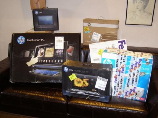 Ya están aquí los regalos del HP Magic Givaway