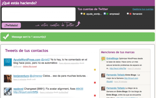 Splitweet – El  Twitter Total