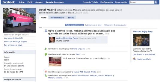 Spam Político en Facebook