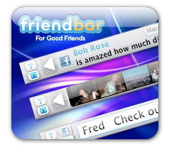Friendbar – Twitter y Facebook en tu navegador