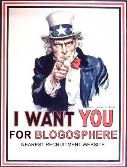 Las políticas con Blog son minoría