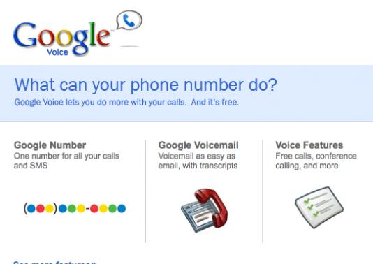 Google Voice – La avanzadilla VoIP de Google