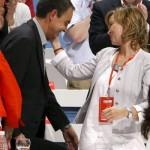 ¿Está liado Zapatero con Leire Pajín?