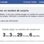 Nombres de usuario en Facebook