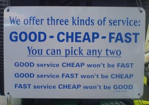 bueno y barato