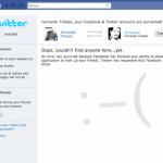 Facebook bloquea a Twitter para que no compartas amigos