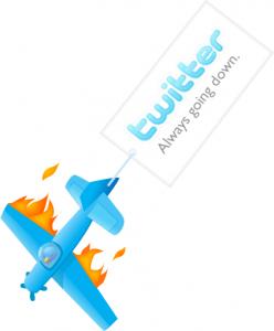 Twitter caído …¿es aceptable?