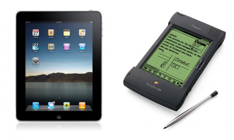 apple newton ipad