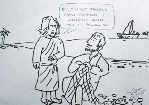 jesus y twitter