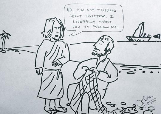 Jesús contra Twitter