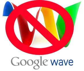 Google Wave, muerto antes de empezar
