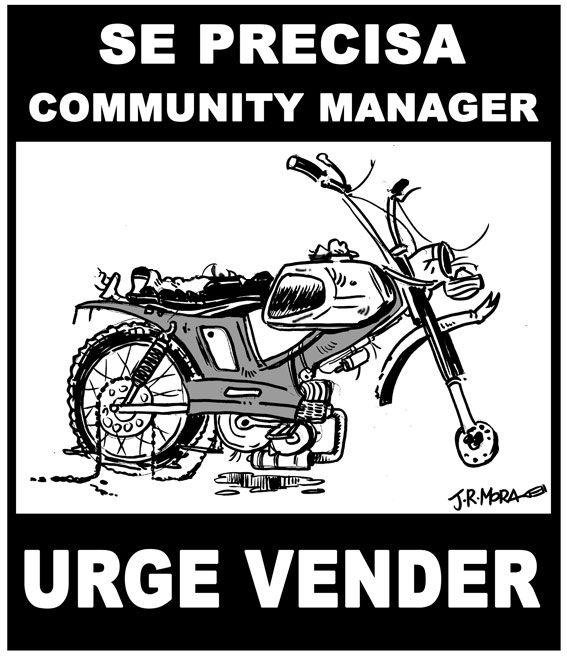 Community Manager vende moto (por JRMora)