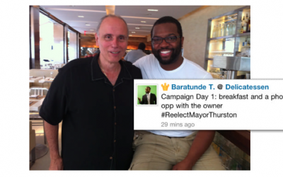Foursquare y Política