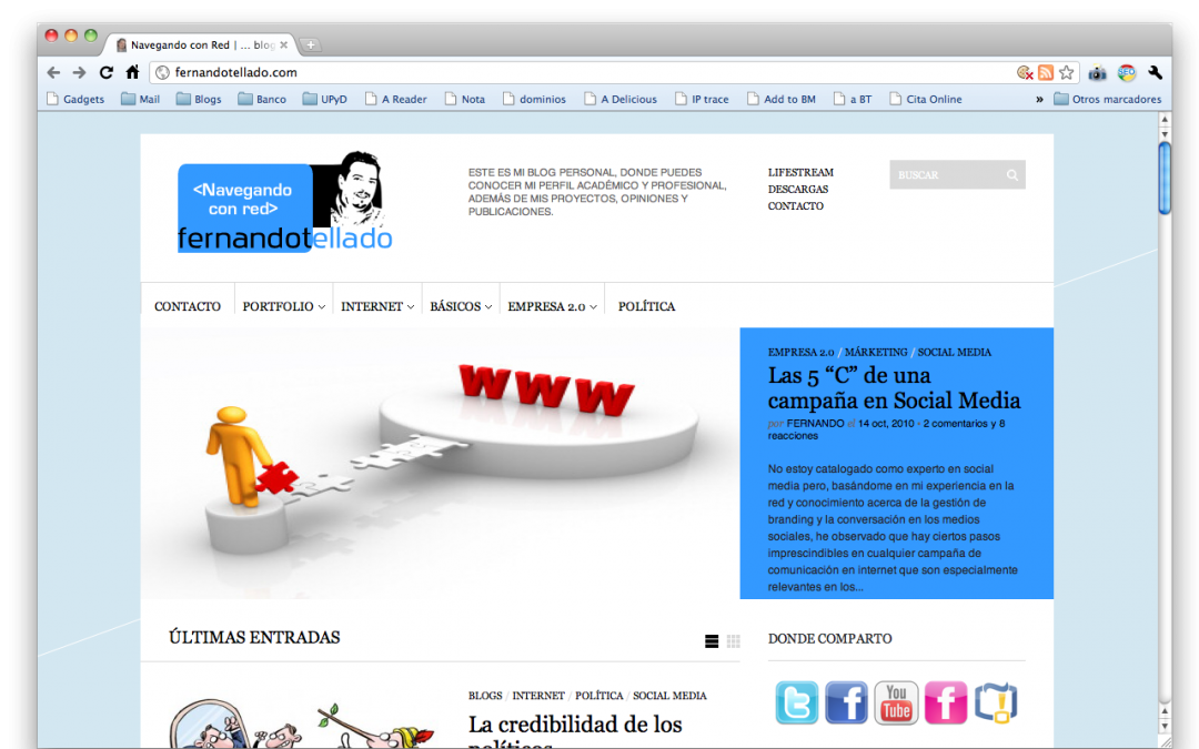 Redecorando mi blog