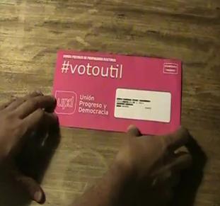 """""""Unboxing"""" de un sobre electoral"""