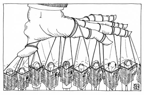 Las 25 Reglas de la desinformación política