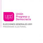 Programas electorales 2011 e Internet: UPyD