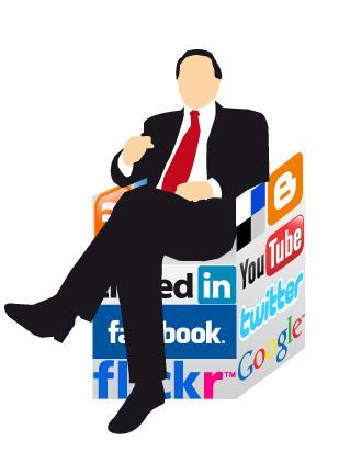 politico redes sociales