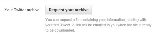 archiva tuits twitter