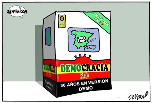 La solución internauta a la crisis es …¡menos democracia!