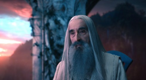 saruman christopher lee