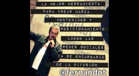 fernandot en video aniversario blogpocket
