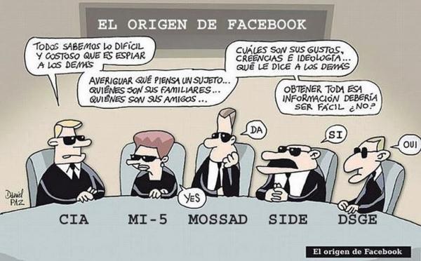 el origen de facebook