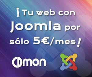 Tu web en Joomla por solo 5 euros al mes