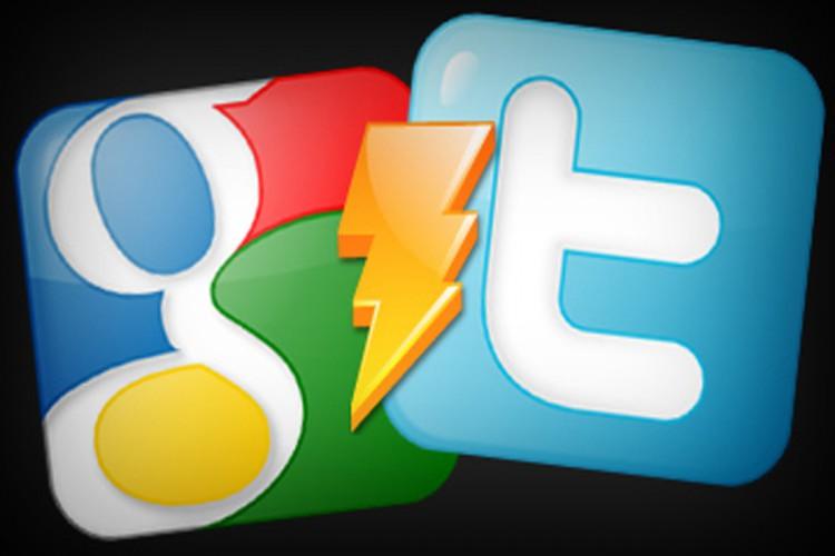 google+ twitter