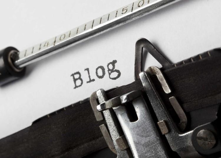blog maquina de escribir