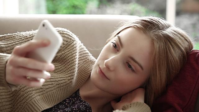 lectura smartphone movil